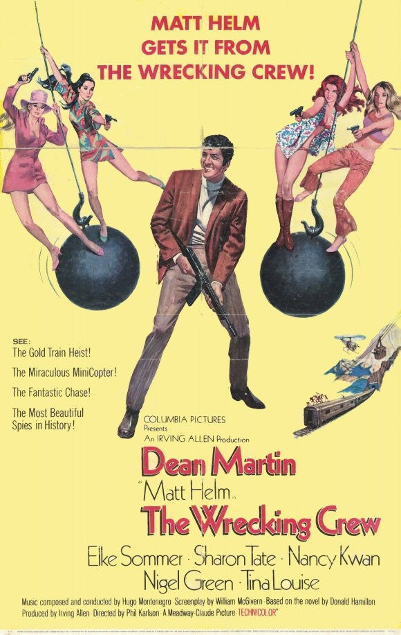 Matt Helm : The Wrecking Crew (1969) - Dean Martin  DVD