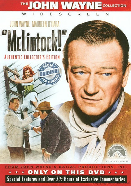 McLintock ! : Authentic Collector's Edition (1963) - John Wayne  DVD