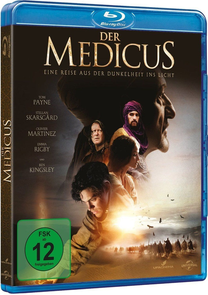 The Physician (2013) - Ben Kingsley  Blu-ray