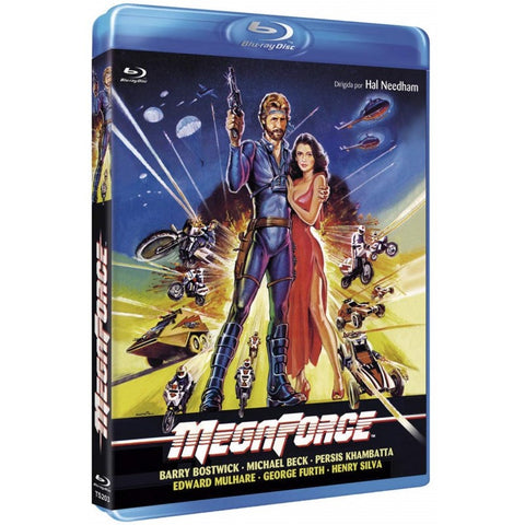 Megaforce (1982) - Brian Bostwick  Blu-ray