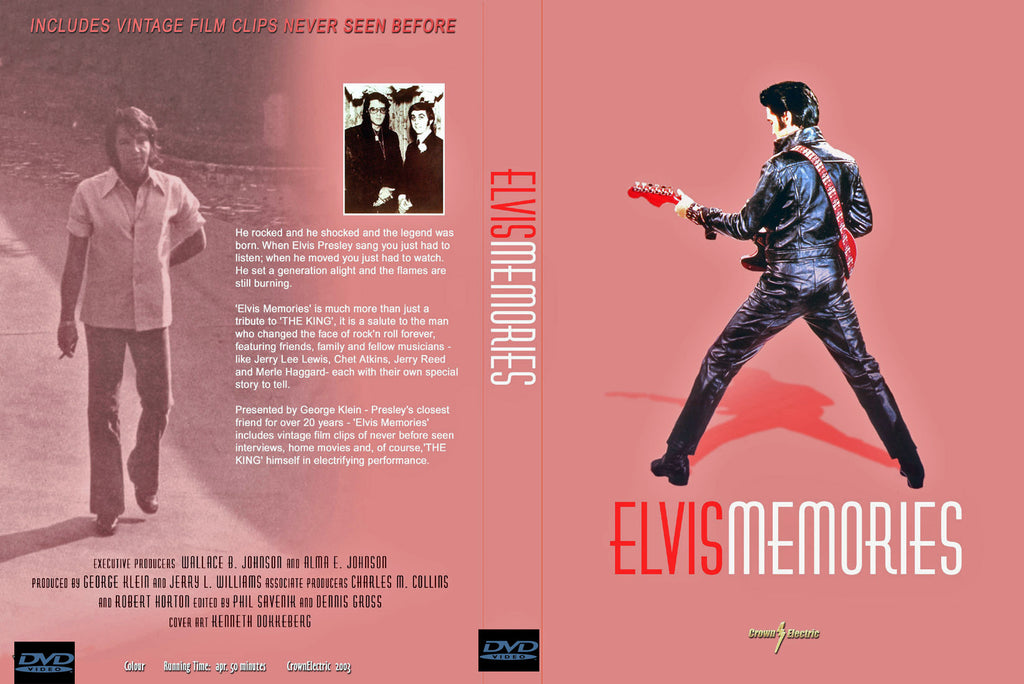 Elvis - Memories DVD