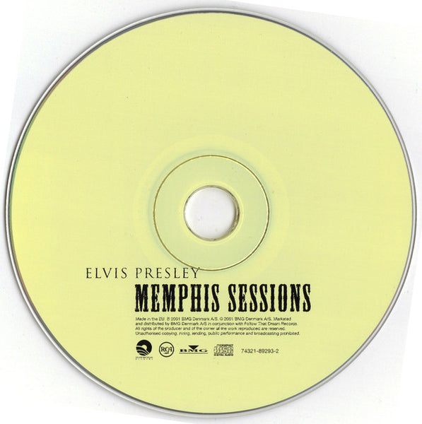 Memphis Sessions FTD  CD