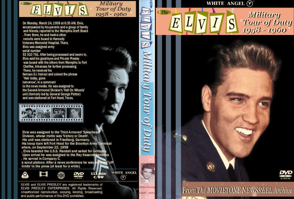 Elvis - Military Tour Of Duty  DVD