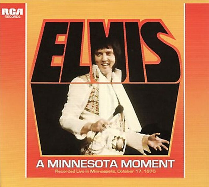 Elvis Presley - A Minnesota Moment  FTD CD