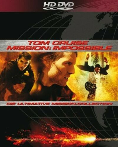 Mission: Impossible : Ultimate Missions Collection - Tom Cruise 3 HD DVD Set
