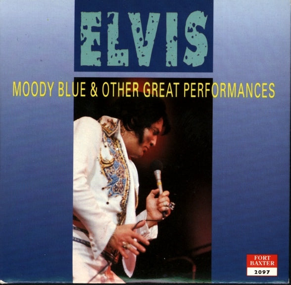 Moody Blue And Other Great Performances - Live In Charlotte,NC 1977  DIGITAL DOWNLOAD