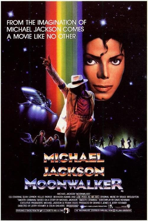 Moonwalker (1988) - Michael Jackson  DVD