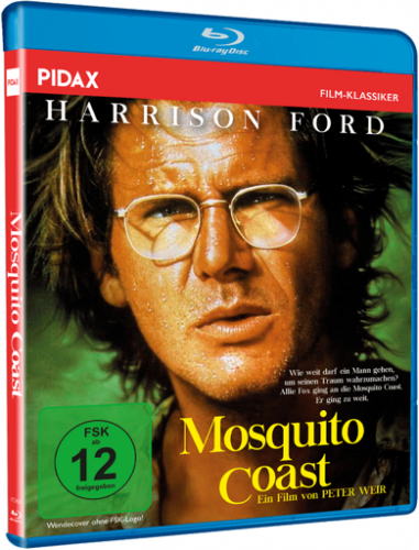 Mosquito Coast (1986) - Harrison Ford  Blu-ray
