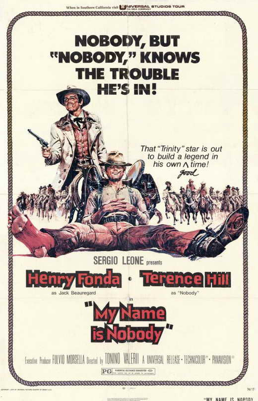 My Name Is Nobody (1973) - Terence Hill  DVD