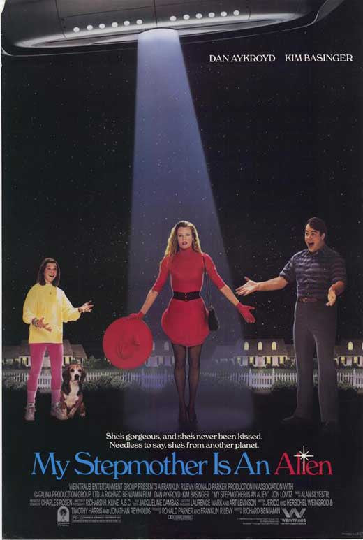 My Stepmother Is An Alien (1988) - Kim Basinger  DVD
