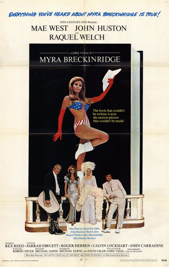 Myra Breckinridge (1970) - Raquel Welch  DVD