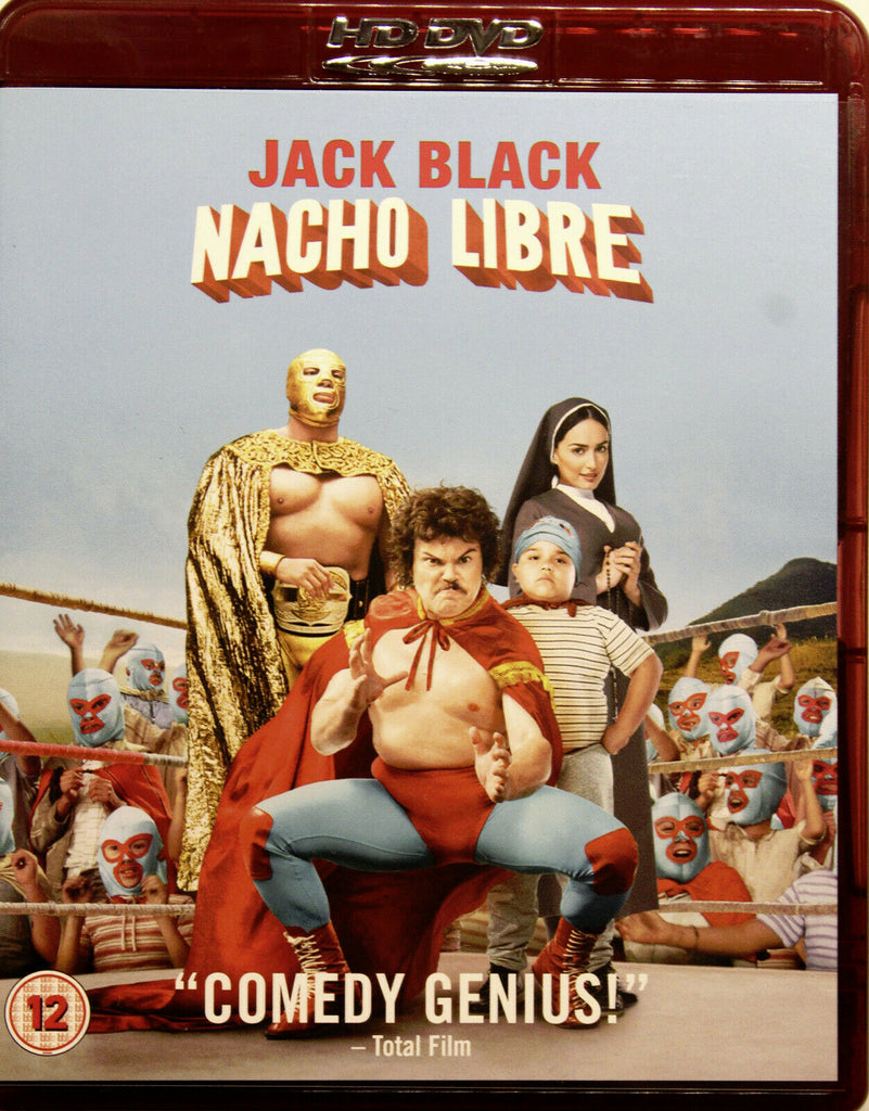 Nacho Libre (2006) - Jack Black  HD DVD