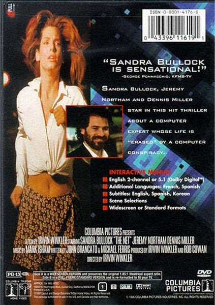 The Net (1995) - Sandra Bullock  DVD
