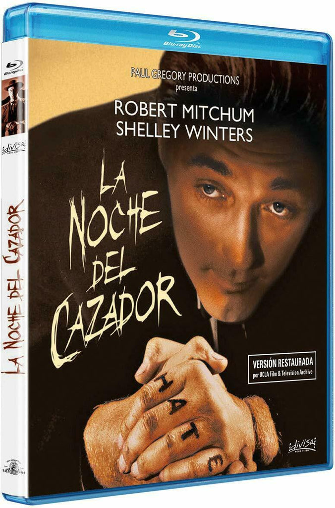 Night Of The Hunter (1955) - Robert Mitchum Blu-ray