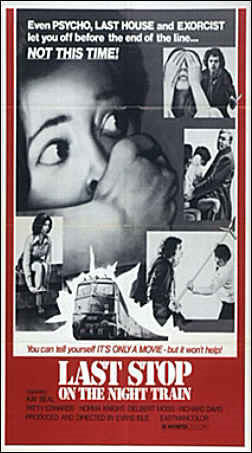 Last Stop On The Night Train (1975) - Aldo Lado  DVD