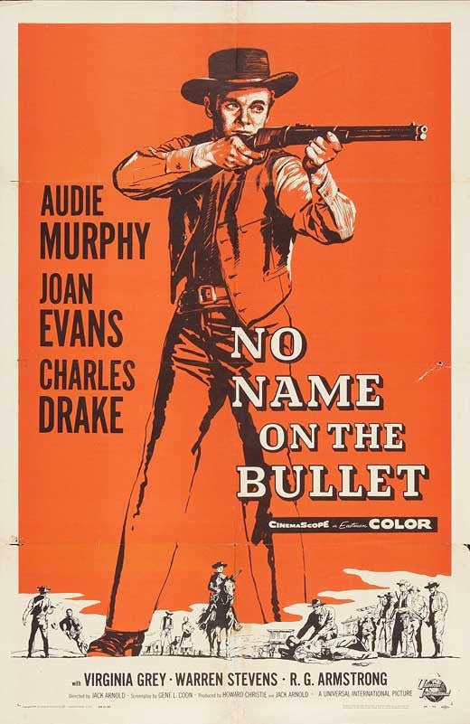 No Name On The Bullet (1959) - Audie Murphy  DVD