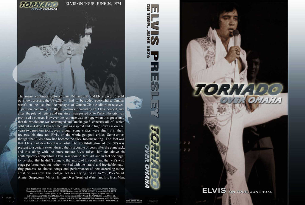 Elvis - Tornado Over Omaha DVD