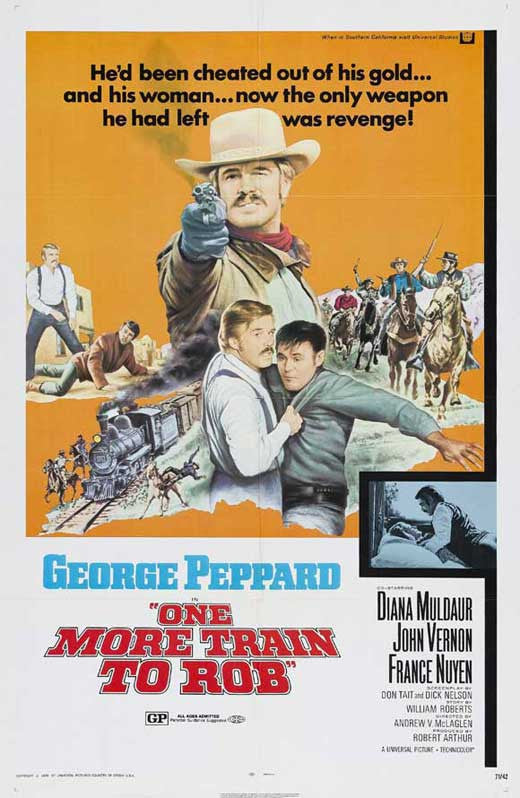 One More Train To Rob (1971) - George Peppard  DVD