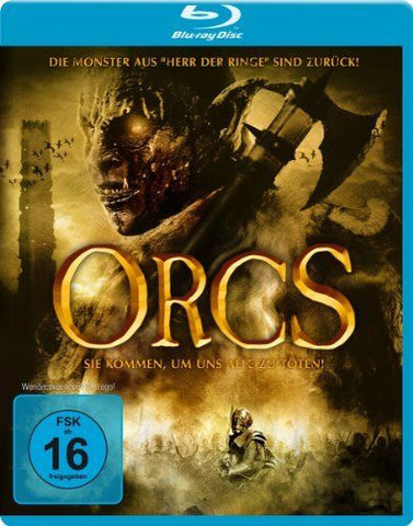 Orcs (2011) - Adam Johnson  Blu-ray