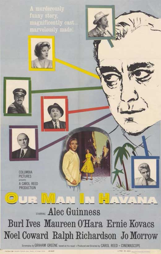 Our Man In Havana (1959) - Alec Guinness  DVD