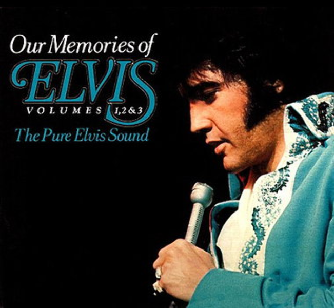 Elvis Presley - Our Memories Of Elvis Volumes 1, 2 & 3 (The Pure Elvis Sound) FTD 2 CD Set