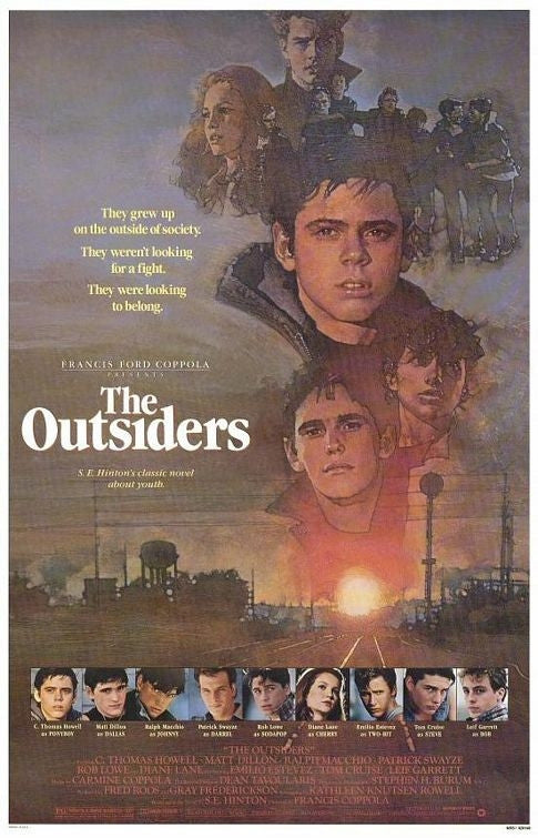 The Outsiders (1983) - Francis Ford Coppola  DVD