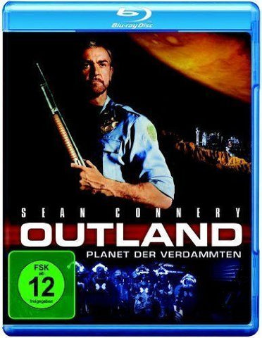 Outland (1981) - Sean Connery  Blu-ray