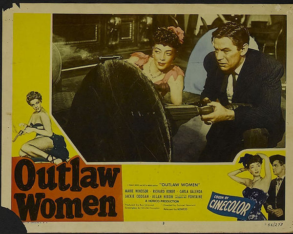 Outlaw Women (1952) - Marie Windsor  DVD