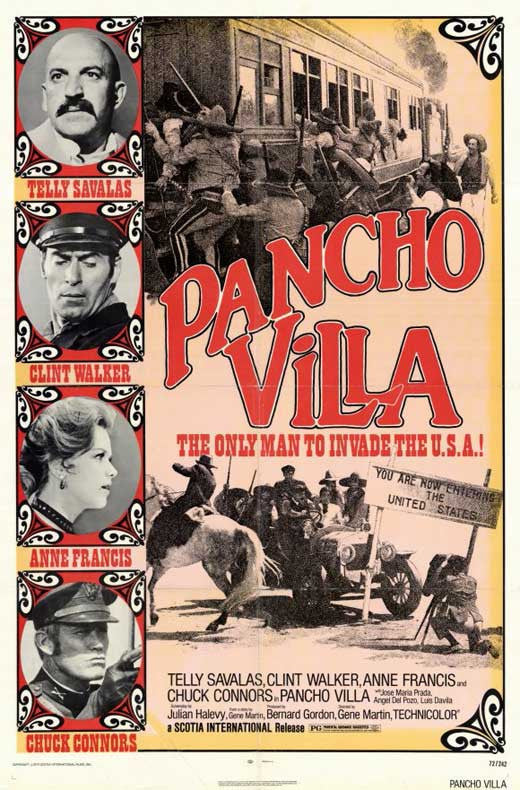 Pancho Villa (1972) - Telly Savalas  DVD