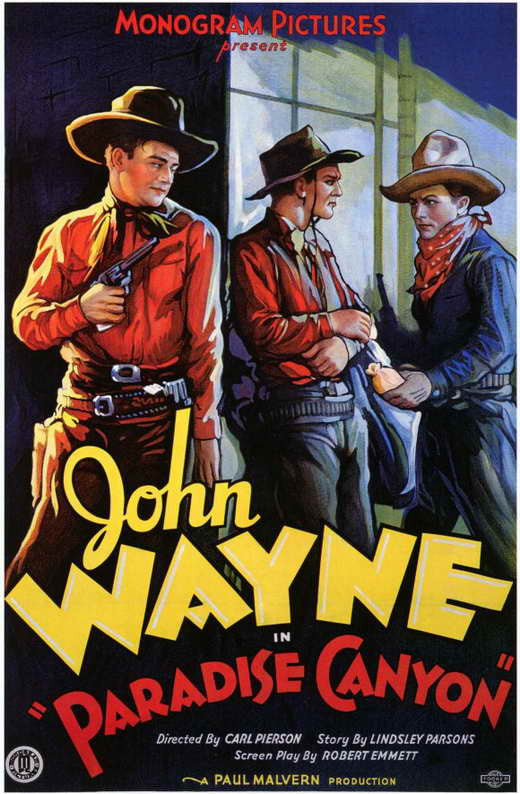 Paradise Canyon (1935) - John Wayne Colorized DVD