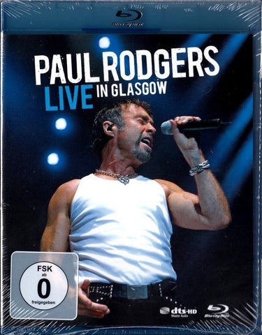 Paul Rodgers : Live In Glasgow (2006)  Blu-ray