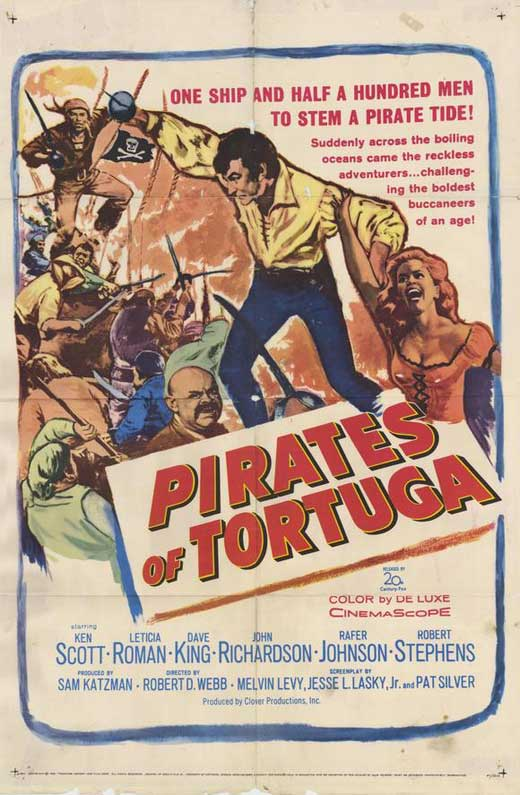 Pirates Of Tortuga (1961) - Ken Scott  DVD