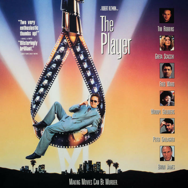 The Player ( 1992) - Tim Robbins  USA 2 LD Laserdisc Set