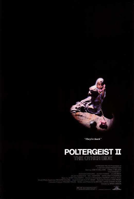 Poltergeist 2 : The Other Side (1986) - Craig T. Nelson  DVD