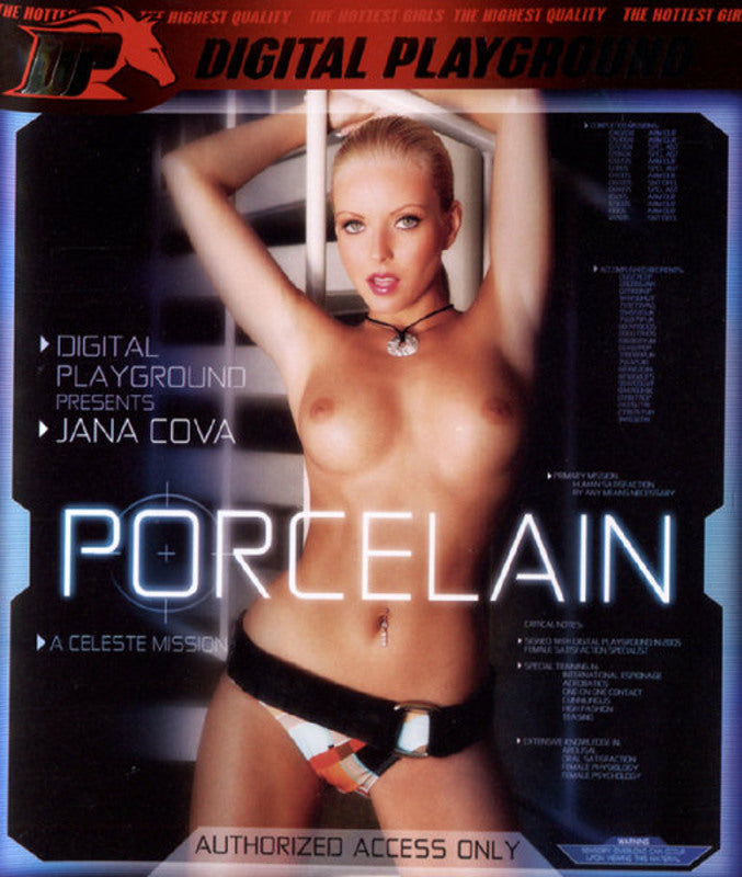 Porcelain - Jana Cova  Digital Playground  HD DVD