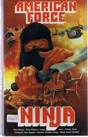 Empire Of The Spiritual Ninja (1987)   DVD
