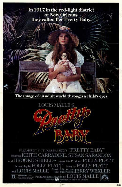 Pretty Baby (1978) - Brooke Shields  DVD