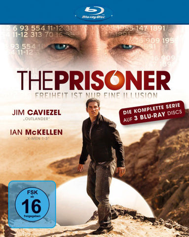 The Prisoner : The Complete Series (2009) - Jim Caviezel (3 Blu-ray)