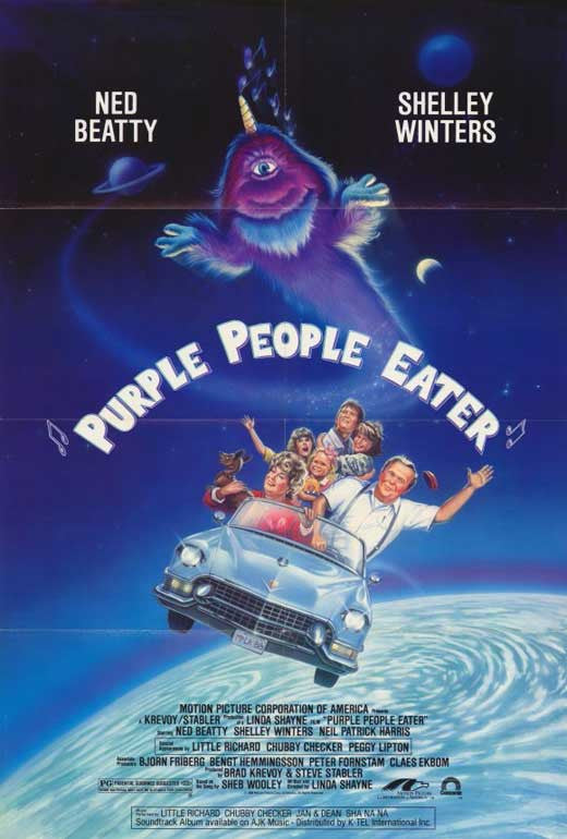 Purple People Eater (1988) - Ned Beatty  DVD