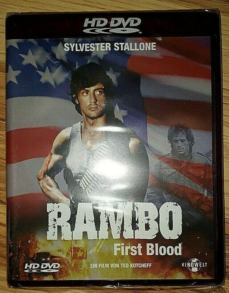 Rambo : First Blood (1982) - Sylvester Stallone  HD DVD