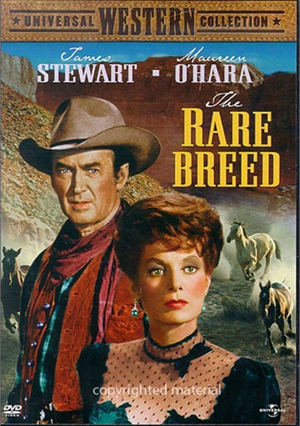 The Rare Breed (1966) - James Stewart. DVD