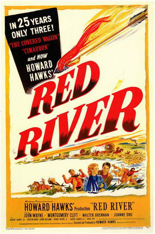 Red River (1948) - John Wayne Color Version DVD