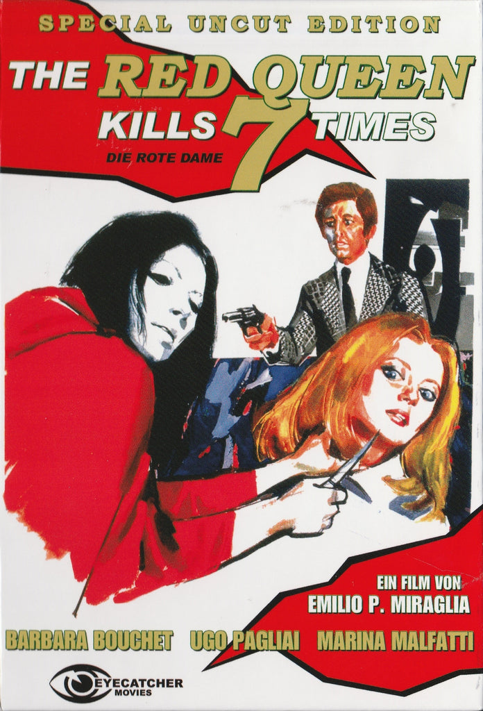 The Red Queen Kills 7 Times (1972) UNCUT  DVD
