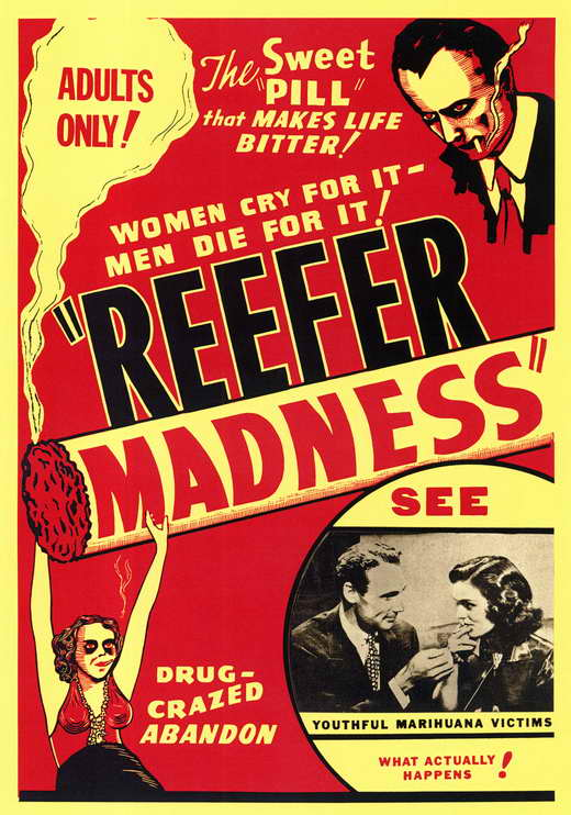 Reefer Madness (1936) - Kenneth Craig Restored and COLORIZED  DVD