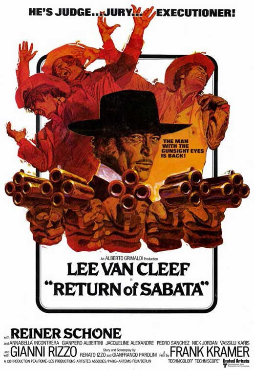 Return Of Sabata (1971) - Lee Van Cleef  DVD
