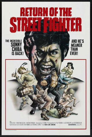 Return Of The Street Fighter (1974) - Sonny Chiba  DVD