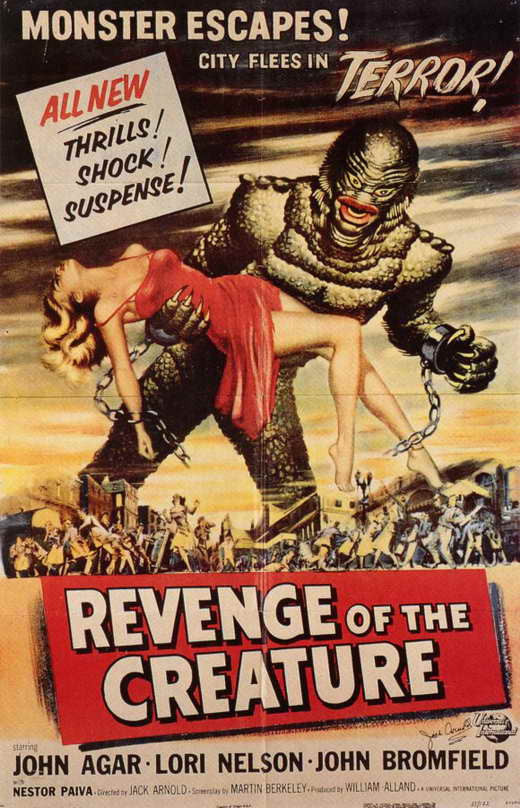 Revenge Of The Creature (1955) - John Agar  DVD
