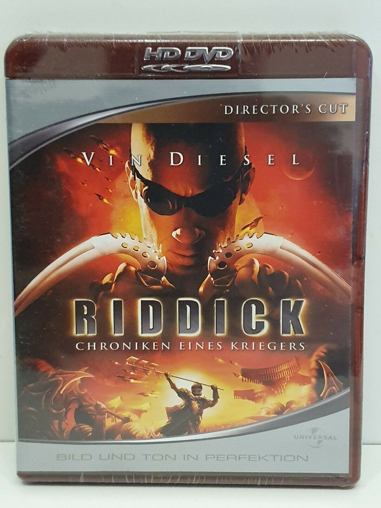 The Chronicles Of Riddick : Director´s Cut (2004) - Vin Diesel  HD DVD