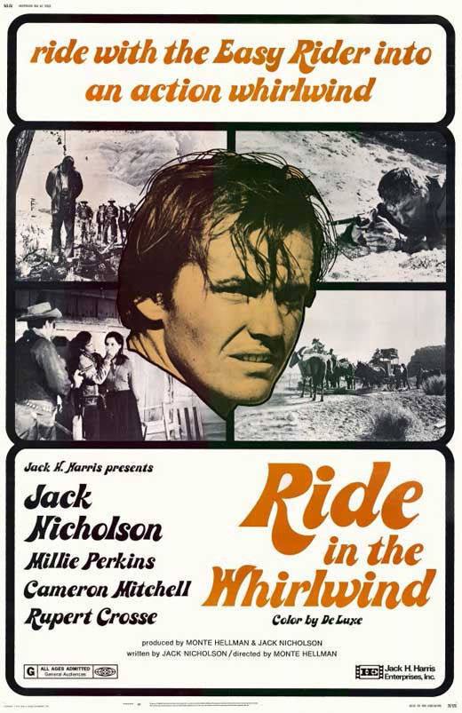 Ride In The Whirlwind (1966) - Jack Nicholson  DVD
