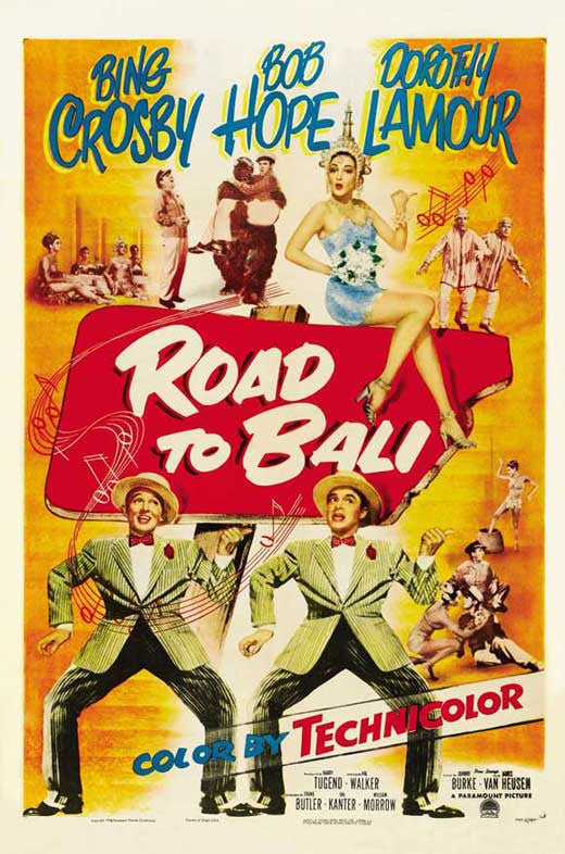 Road To Bali (1952) DVD